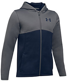 Under Armour Colorblocked Full-Zip Hoodie, Big Boys
