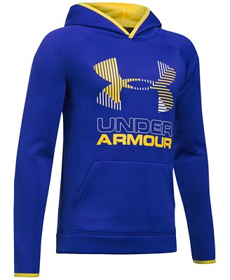 Under Armour Graphic-Print Hoodie, Big Boys