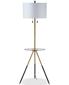 Safavieh Morrison Accent Table Floor Lamp