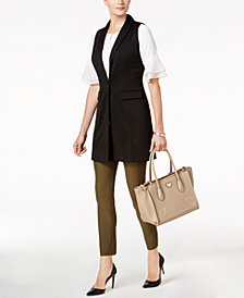 NY Collection Vest, Bell-Sleeve Top, & ECI Pull-On Pants