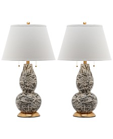 Safavieh Color Swirls Set of 2 Table Lamps
