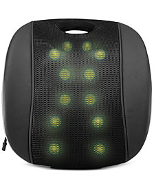 Sharper Image LED Shiatsu Massage Chair Cushion