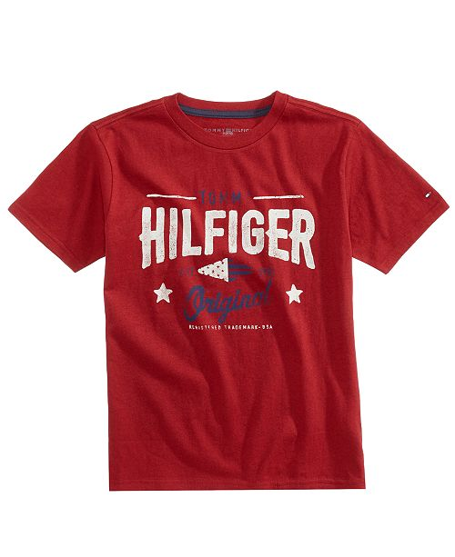 Tommy Hilfiger Rex Graphic-Print Cotton T-Shirt, Toddler Boys (2T-5T)