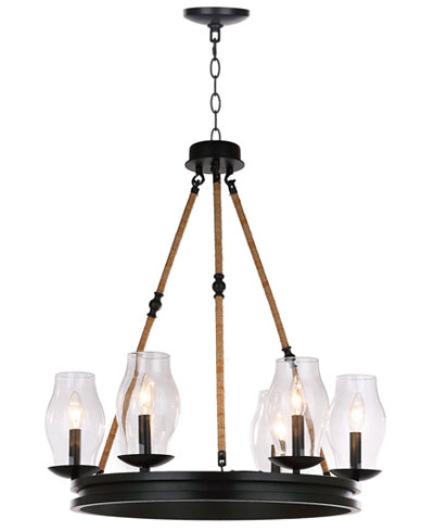 Safavieh Fritz Adjustable Chandelier