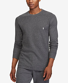 Polo Ralph Lauren Men's Ultra Soft Waffle-Knit Thermal Shirt