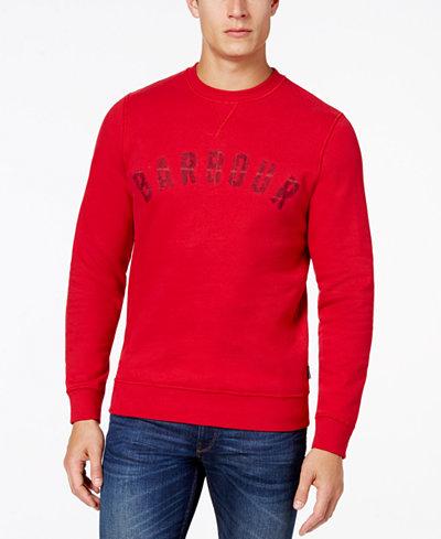 Barbour Men's Essential Logo Graphic-Print Sweatshirt, Created for Macy's