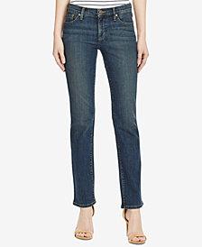 Lauren Ralph Lauren Super Stretch Classic Straight Jeans