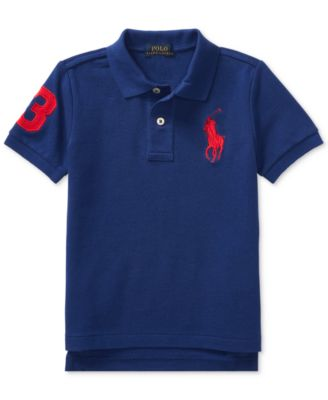 Image of Ralph Lauren Embroidered Cotton Polo, Toddler (2T-5T)