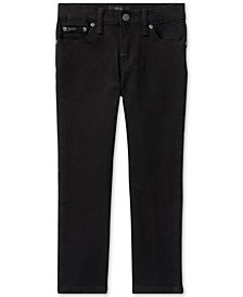 Ralph Lauren Straight-Fit Denim Jeans, Little Boys
