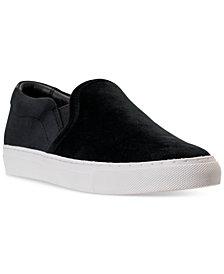 Skechers Women's Vaso Velvet Slip-On Casual Sneakers from Finish Line