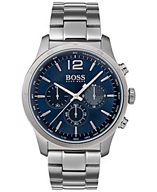 BOSS Hugo Boss Men's Chronograph Professional Stainless Steel Bracelet Watch 42mm