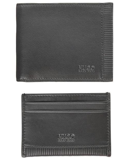 b6e83319f59 Hugo Boss Men s Leather Card Holder   Wallet Gift Set   Reviews ...