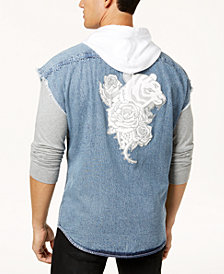 I.N.C. Men's Tiger Hoodie Vest, Created for Macy's