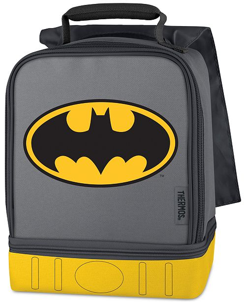 Lifefactory Thermos Batman Dual-Compartment Lunch Box