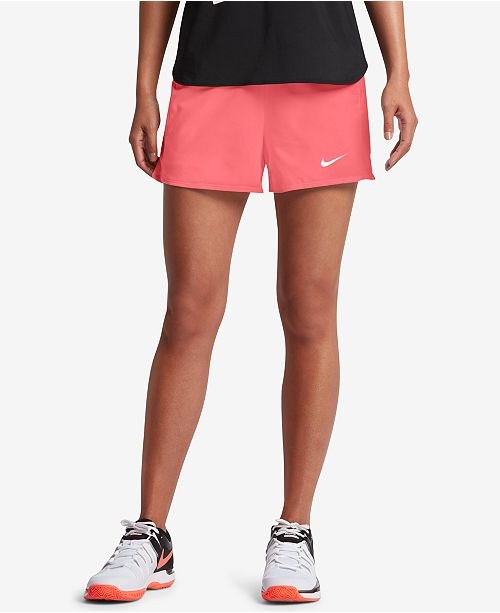 808a9938b34 Nike Flex Pure Tennis Shorts   Reviews - Shorts - Women - Macy s