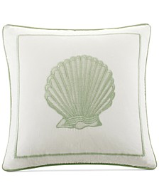 "Brisbane 180-Thread Count 16"" Square Decorative Pillow"
