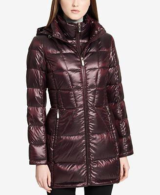 Calvin Klein Pe E Packable Down Puffer Coat 35 Reviews Main Image