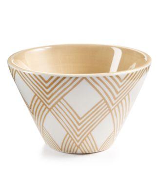 Cobble Woven Mod Appetizer Bowl