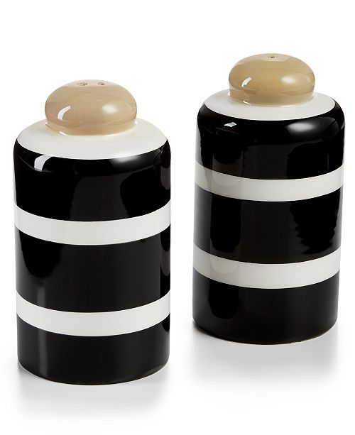 Coton Colors Blank Plank Column Salt & Pepper Shakers