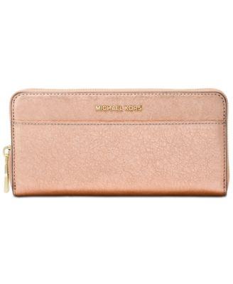 MICHAEL Michael Kors Pocket Zip-Around Continental Wallet