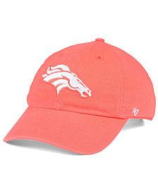 '47 Brand Women's Denver Broncos Pastel CLEAN UP Cap