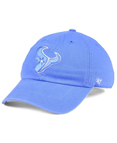 '47 Brand Women's Houston Texans Pastel CLEAN UP Cap