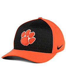 Nike Clemson Tigers Just Do It Swooshflex Cap