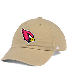 '47 Brand Arizona Cardinals Khaki CLEAN UP Cap