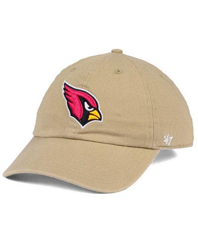 '47 Brand Arizona Cardinals Khaki CLEAN UP Cap