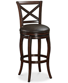 Portland Memory Foam Counter Stool, Quick Ship