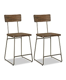 CLOSEOUT! Colven Dining Chair (Set Of 2), Quick Ship