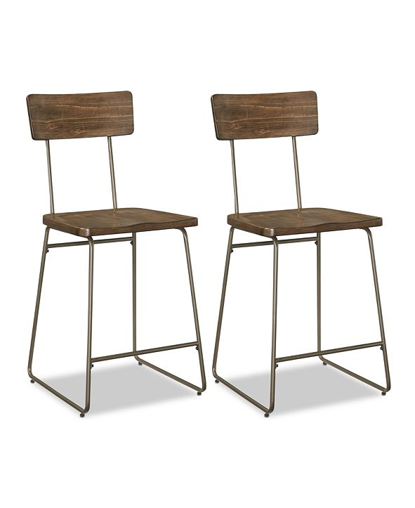 Furniture CLOSEOUT! Colven Dining Chair (Set Of 2), Quick Ship