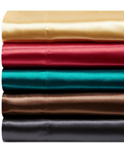 JLA Home Satin 6-Pc. Sheet Sets