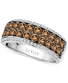 Le Vian Chocolatier® Diamond Ring (1-5/8 ct. t.w.) in 14k White Gold