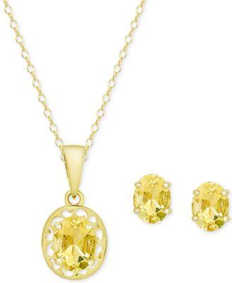 shop citrine earrings at macy s macy s