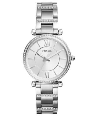 Women's Carlie Stainless Steel Bracelet Watch 35mm