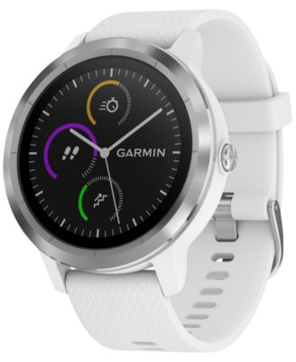 Unisex vívoactive® 3 White Silicone Strap Smart Watch 43mm