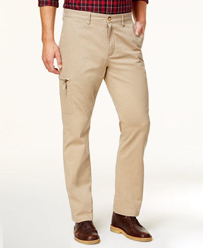 Club Room Men's Classic-Fit Cargo Pants, Created for Macy's