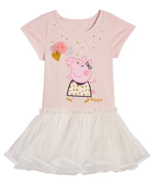 Peppa Pig Balloon Ruffle Dress Toddler Girls (2T5T)