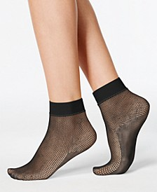 Women's Sporty Fishnet Ankle Socks