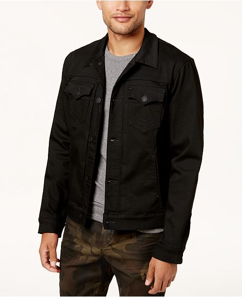 2f419156d0905 True Religion Men s Dylan Denim Jacket   Reviews - Coats   Jackets ...