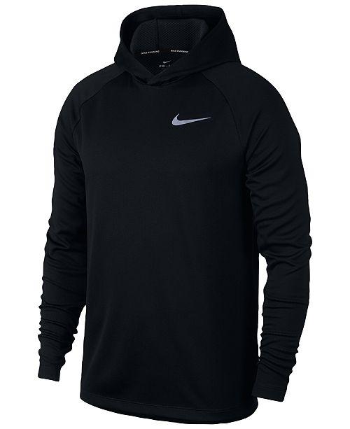 aa08e168bb36 Nike Men s Dry Running Hoodie   Reviews - Hoodies   Sweatshirts ...