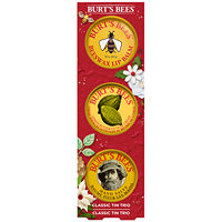 Burt's Bees Classic Tin Trio Holiday Gift Set
