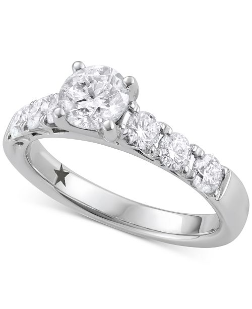 Wedding Ring On Sale.Engagement Ring 1 5 8 Ct T W In 14k White Gold