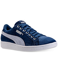 Puma Women's Vikky Velvet Rope Casual Sneakers from Finish Line