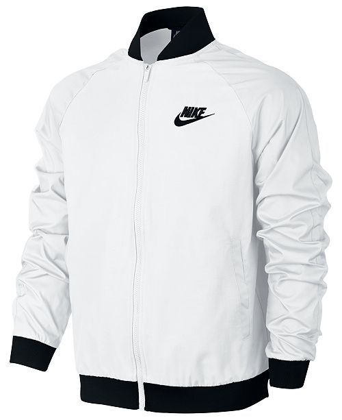 4d370833f Nike Men's Woven Players Bomber Jacket & Reviews - Coats & Jackets ...