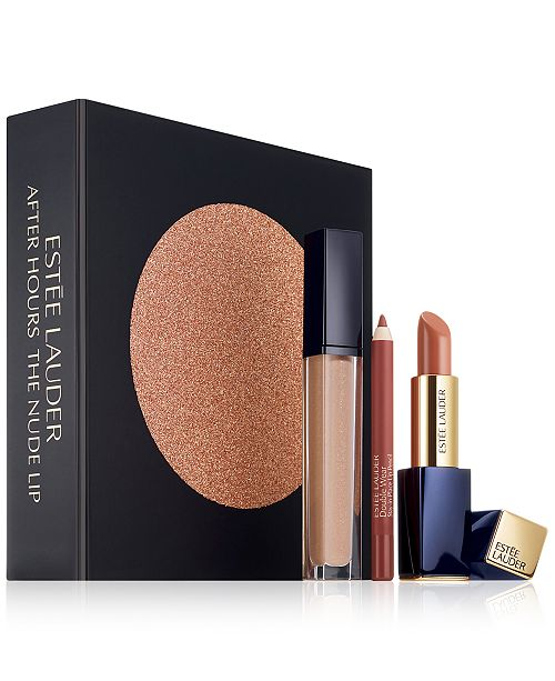 3-Pc. After Hours The Nude Lip Gift Set