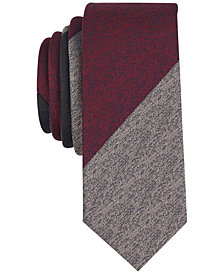 Original Penguin Men's Catimor Stripe Skinny Tie