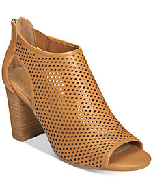 Aerosoles High Frequency Peep-Toe Booties