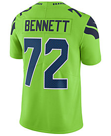 Nike Men's Michael Bennett Seattle Seahawks Limited Color Rush Jersey